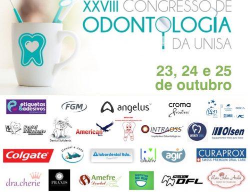 XXVIII Congresso de Odontologia da UNISA